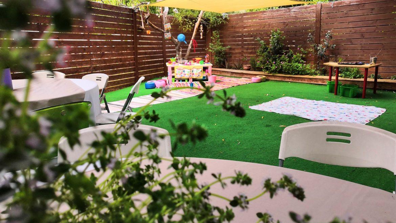 Πάρτι στον κήπο μας